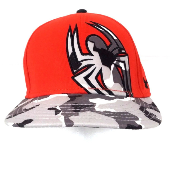 dec54c00484 ... spain under armour marvel spiderman camo hat fitted lg 93a8d dc024
